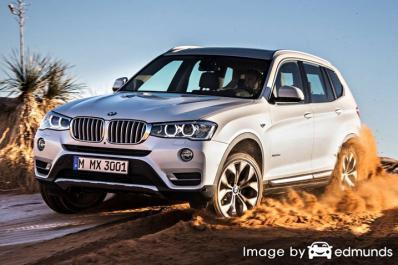 Insurance quote for BMW X3 in Seattle
