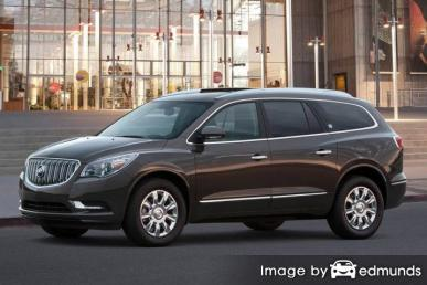 Insurance rates Buick Enclave in Seattle