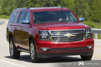 Discount Chevy Suburban insurance
