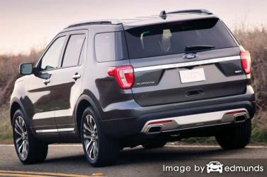 Insurance rates Ford Explorer in Seattle