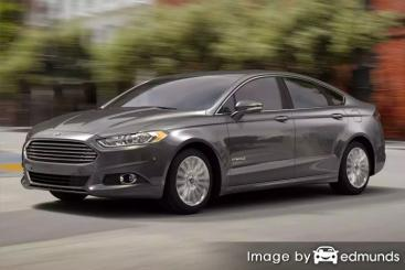 Insurance quote for Ford Fusion Hybrid in Seattle