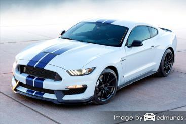 Insurance rates Ford Shelby GT350 in Seattle