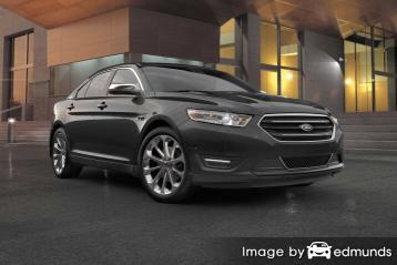Insurance rates Ford Taurus in Seattle