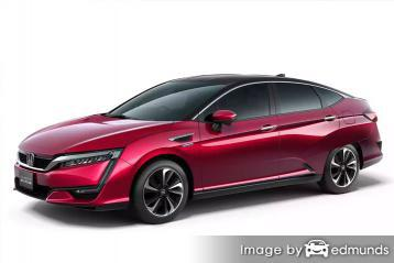 Insurance rates Honda Clarity in Seattle