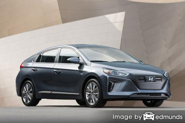 Insurance quote for Hyundai Ioniq in Seattle