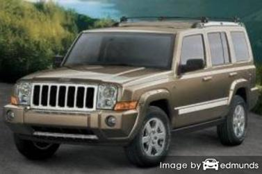 Insurance quote for Jeep Commander in Seattle