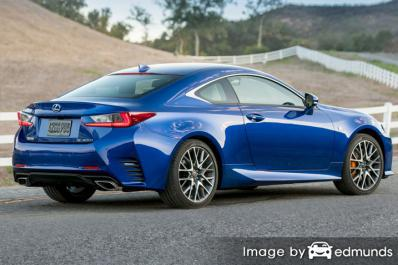 Insurance rates Lexus RC 200t in Seattle
