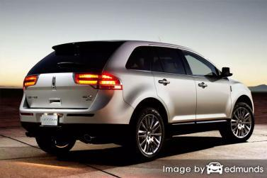 Discount Lincoln MKX insurance