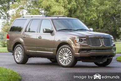 Insurance rates Lincoln Navigator in Seattle