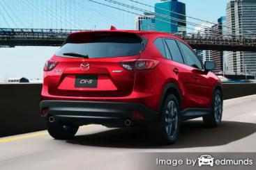 Insurance quote for Mazda CX-5 in Seattle