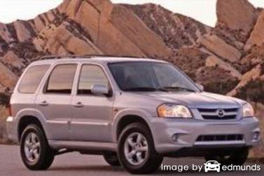 Insurance rates Mazda Tribute in Seattle