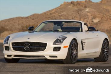 Insurance rates Mercedes-Benz SLS AMG in Seattle
