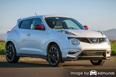 Insurance rates Nissan Juke in Seattle