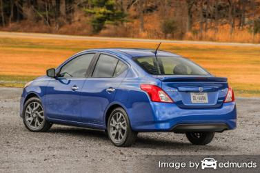 Insurance quote for Nissan Versa in Seattle