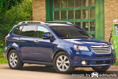 Insurance quote for Subaru Tribeca in Seattle