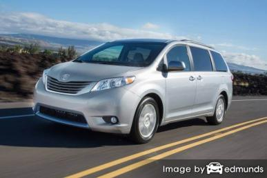 Insurance quote for Toyota Sienna in Seattle