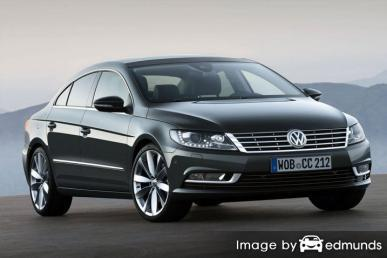 Insurance quote for Volkswagen CC in Seattle