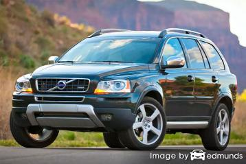 Insurance quote for Volvo XC90 in Seattle